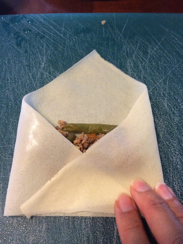 It looks kind of like a little envelope.